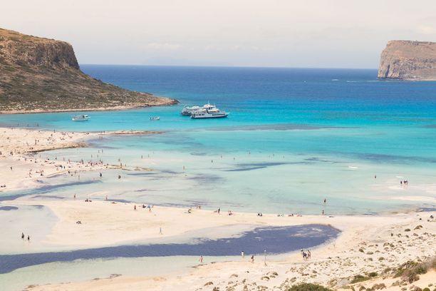 Balosin ranta on suosittu etenkin loma-aikoina.