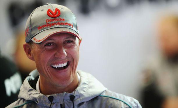 Michael Schumacher kärsi vakavia päävammoja vuonna 2013.