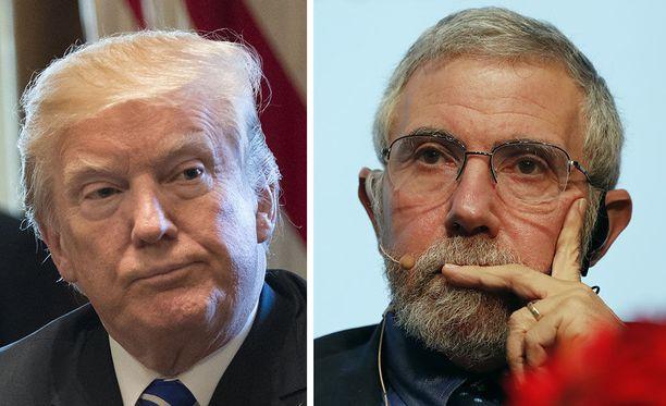 Yhdysvaltain presidentti Donald Trump haluaa saada verouudistuksen läpi. Nobel-palkittu taloustieteilijä Paul Krugman arvostelee The New York Timesin kirjoituksessaan ankarasti republikaanien ajamaa lakiesitystä.