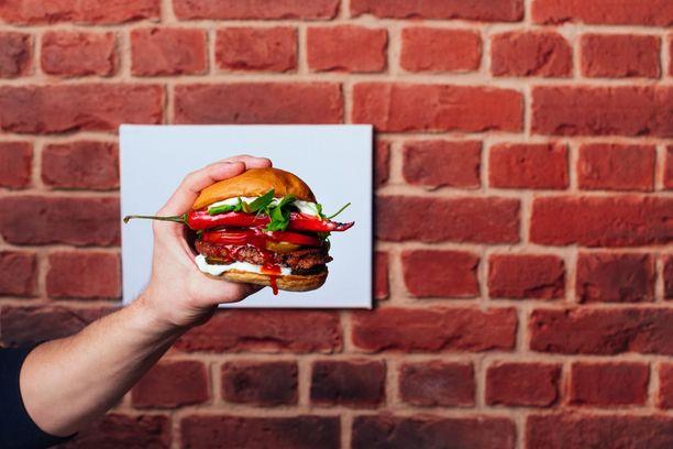 Bun2bun kertoo olevansa Suomen ensimmäinen täysin vegaaninen hampurilaisketju.