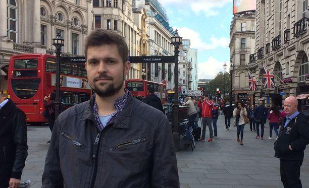 Jaakko Kilpeläinen matkusti viikonloppureissulle Lontooseen, kun terrori-isku tapahtui.