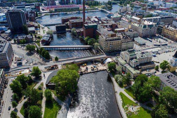 Kokaiinia myytiin käyttäjille erityisesti Tampereella.