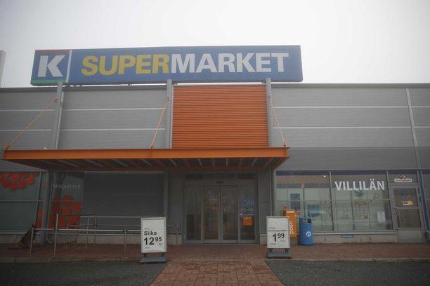 K-Supermarket Villilän kauppiasta epäillään seksuaalisesta ahdistelusta.