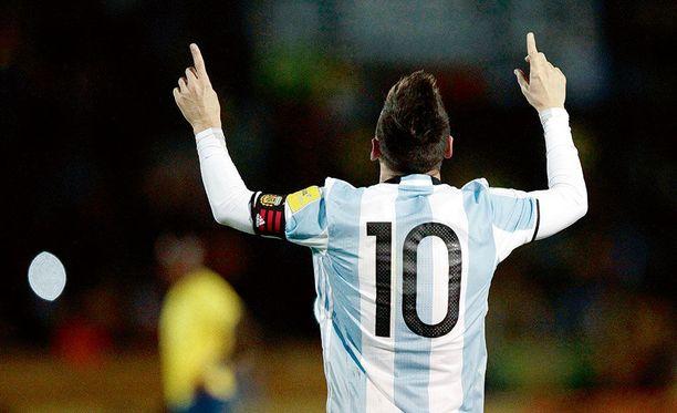 Argentiinan MM-kisapaikka ratkesi vasta karsintataipaleen viimeisessä ottelussa Quitossa.