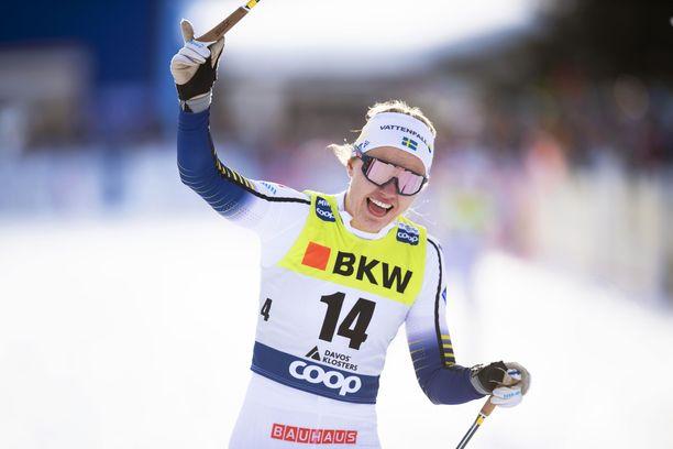Linn Svahn voitti tällä kaudella sprintticupin.
