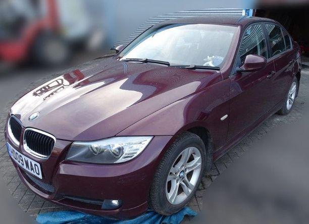 Sergei Skripalin BMW saattoi olla myrkytyspaikka. Lontoon poliisi on julkaissut autosta kuvan.