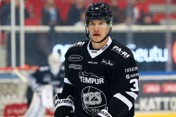 Anton Holm on TPS:n paras pistemies seitsemällä (4+3) tehopisteellään.