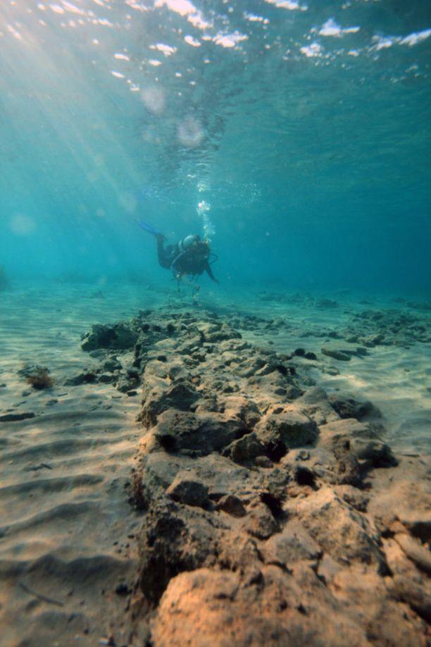 Pavlopetri on kiehtova sukelluskohde.