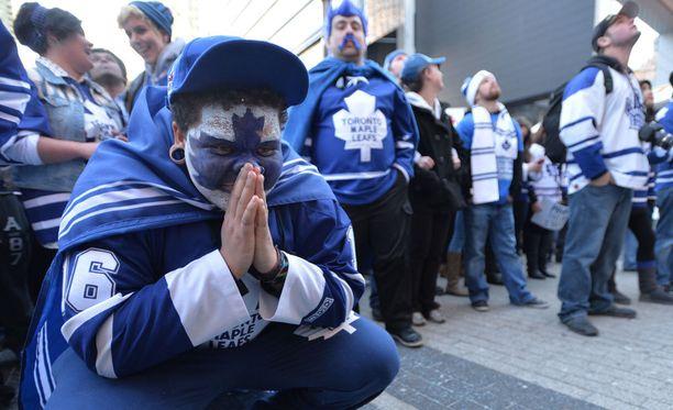 Torontossa mietitään NHL:n vuoden tulokasta. Kuvituskuva.
