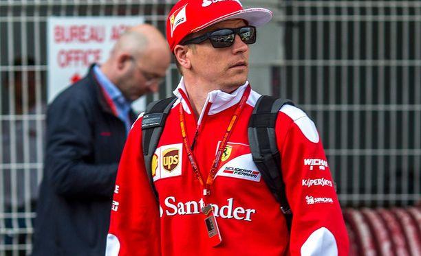 Kimi Räikkönen pettyi Monacon aika-ajossa.