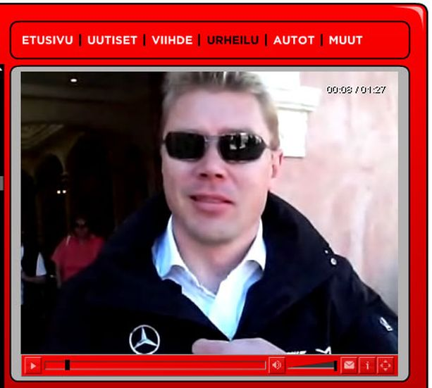 Mika Häkkinen aavisteli McLarenin iskukykyä Netti-tv:n haastattelussa maaliskuussa.