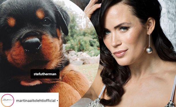 Martina kertoo Instagramissa toivoneensa pitkään koiran hankkimista.