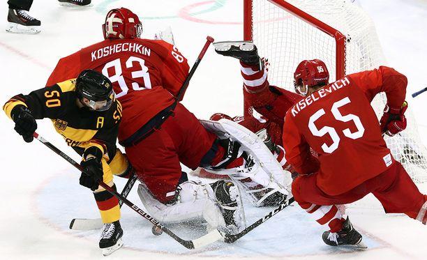 NHL-pelaajia ei nähty olympialaisissa tänä talvena. Pyeongchangin turnauksen finaalissa kohtasivat Venäjä ja Saksa.