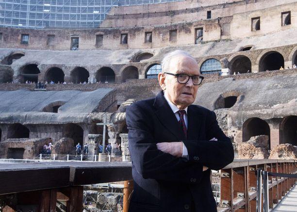 91-vuotias Ennio Morricone menehtyi maanantaina.