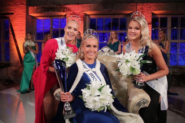 Miss Suomi ja perintöprinsessat.