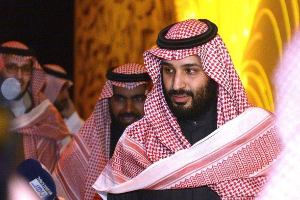 Saudi-Arabian kruununprinssi Mohammed bin Salman on käytännössä öljyvaltion tosiasiallinen johtaja.