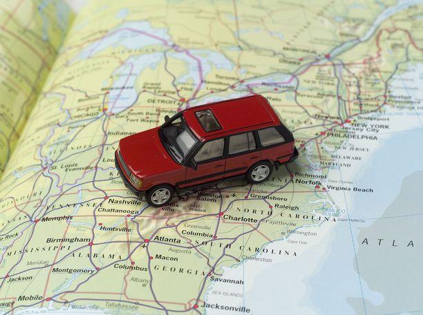Road tripin reitti kannatta suunnitella huolella.