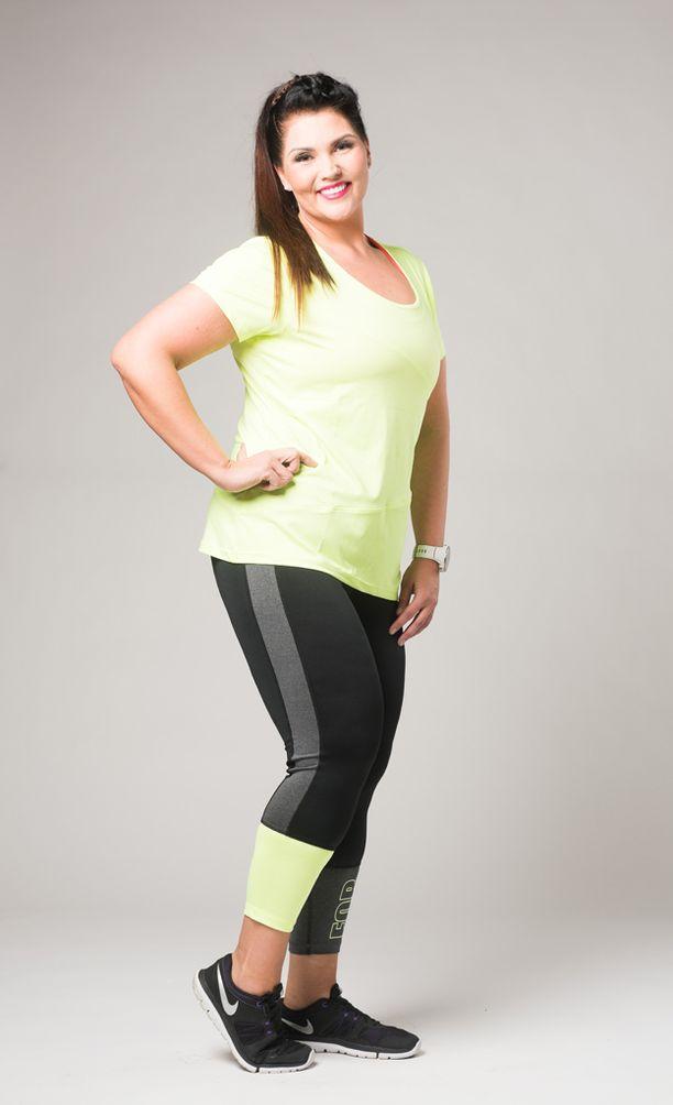 Marjaana Lehtinen on laihtunut huimat 76 kiloa ja nauttii nyt urheilullisesta elämäntavasta.
