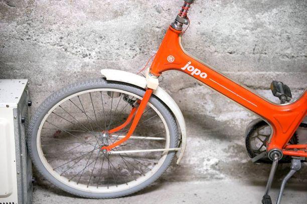 Pariskunta varasti ainakin 149 Jopo-merkkistä polkupyörää Oulussa ja sen lähialueilla. Kuvan Jopo ei tiettävästi liity tapaukseen.