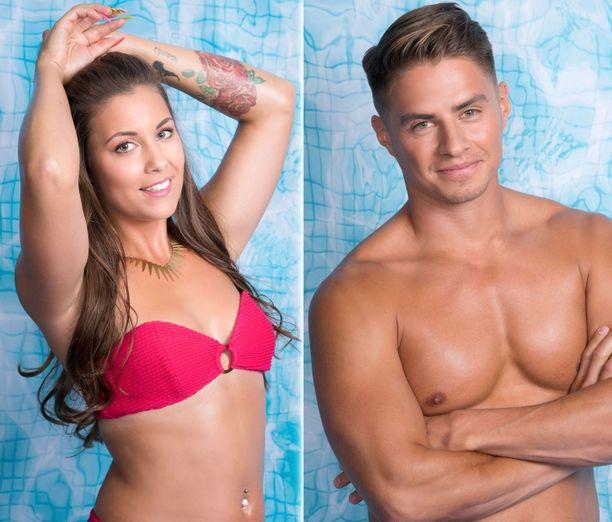 Nikita ja Tommy nahistelivat jo Love Island -talossa ollessaan.