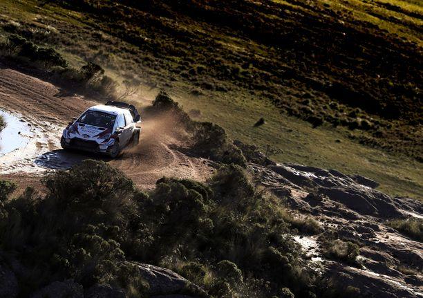 Argentiinassa on tarkoitus ajaa huhtikuun lopussa.