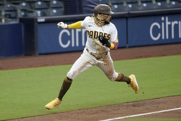 Fernando Tatis Jr. edustaa San Diego Padresia vielä monta vuotta.