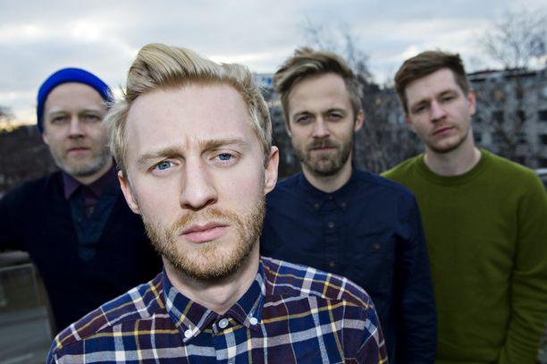 Ewert and The Two Dragons on esiintynyt Suomessa lukuisia kertoja.