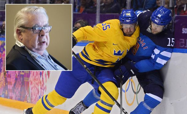 Ruotsin Niklas Kronwall ja Suomen Tuomo Ruutu pääsivät vuonna 2014 NHL-seuroistaa kamppailemaan olympiamitaleista. Kalervo Kummolan mukaan olympiakiekon järjestämiseen on jälleen monta eri vaihtoehtoa.