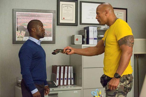 Kevin Hart ja Dwayne Johnson esittävät epäsuhtaista kaksikkoa, joka joutuu tekemään yhteistyötä pelastaakseen maailman.