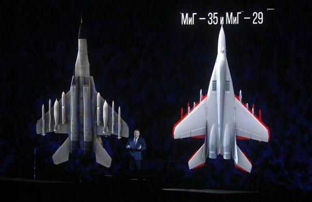 MiG-35 on aiempia koneperheen malleja vaikeampi havaita tutkassa.