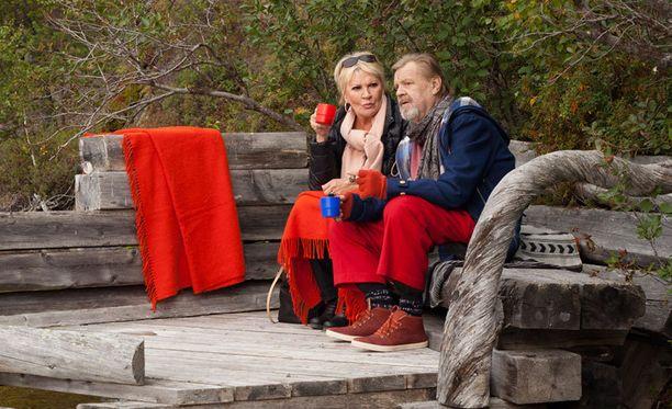 Hanne Lauri ja Vesa-Matti Loiri ovat näytelleet yhdessä kymmenissä elokuvissa ja useissa televisiosarjoissa.