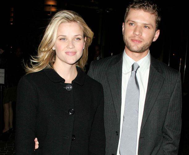 Reese Witherspoon ja Ryan Phillippe olivat naimisissa 8 vuotta.