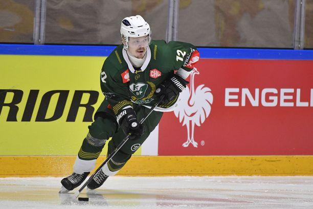 Ville Leskisen pesti Färjestadissa jäi lyhyeksi.