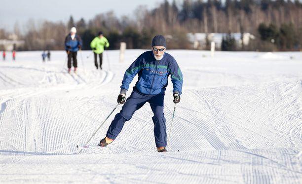 Hiihtokelit vallitsevat nyt myös Etelä-Suomessa.