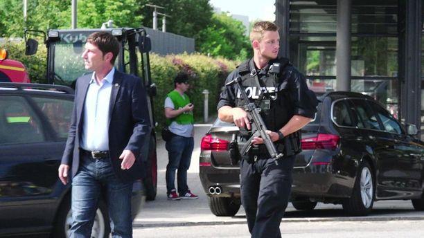 Saksan poliisi ei usko tapahtumien liittyvän terrorismiin.