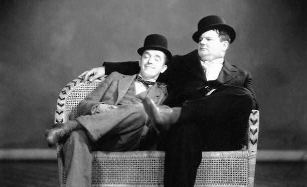 Stan Laurelin ja Oliver Hardyn komediakaksikko nousi suursuosioon 1950- ja 60-luvuilla.