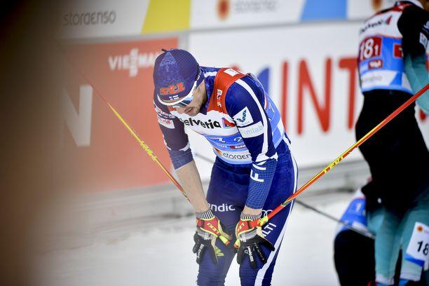 Seefeld 2019 oli kamala pettymys, kun Ristomatti Hakola kaatui MM-pariviestissä.
