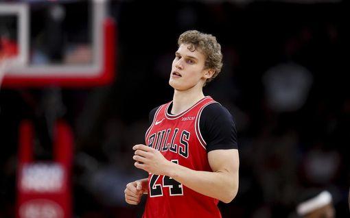 Lauri Markkanen jätti ottelun kesken – Chicago Bulls kärsi tappion
