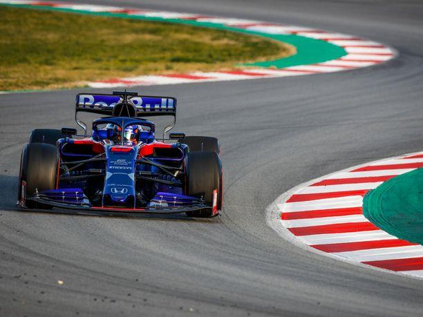 F1-kausi 2019 on Alexander Albonille uran ensimmäinen.