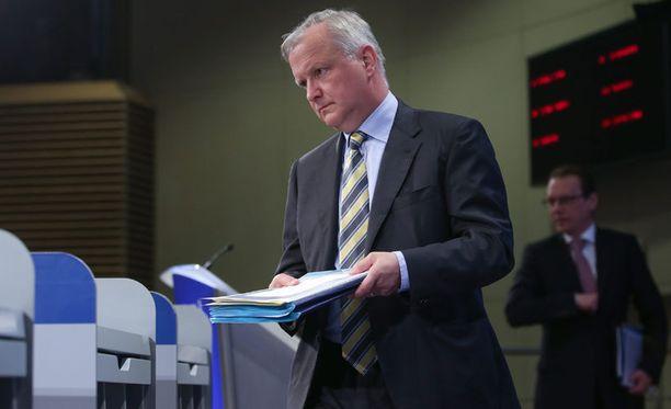 Euroopan komission varapuheenjohtajana Olli Rehn kertoi tänään tiedotustilaisuudessa uusista laskelmista.