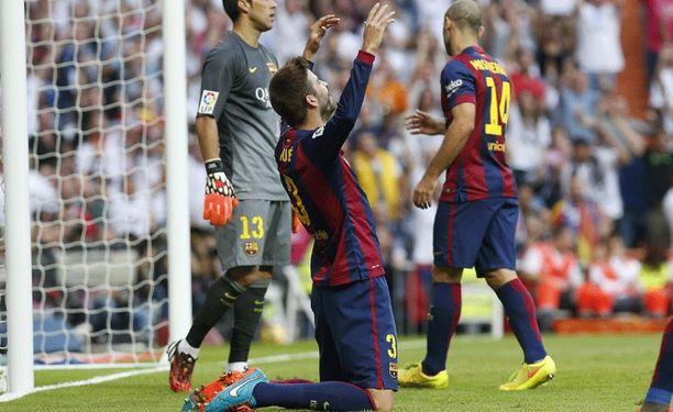 Gerard Piquén peliesitysten taso on laskenut muutaman vuoden takaisesta.