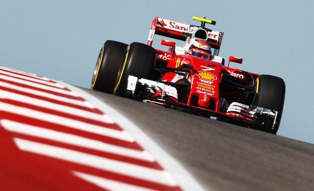 Kimi Räikkönen lähtee huomiseen kisaan viidennestä ruudusta.