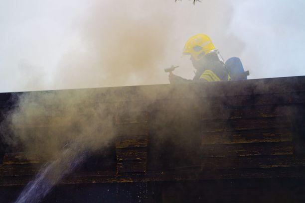 Kuvituskuva, kuvan tulipalo ei liity tapahtuneeseen.