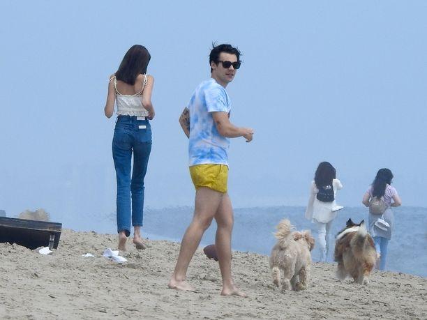 Styles ja Gerber poistuivat rannalta yhdessä.