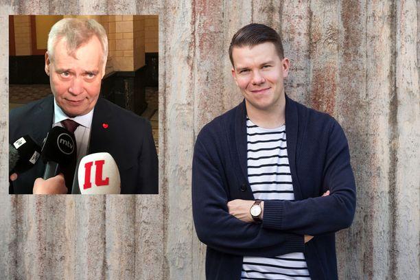 SDP:n eurovaaliehdokas Mikkel Näkkäläjärvi katuu nuoruusvuosien tekojaan.