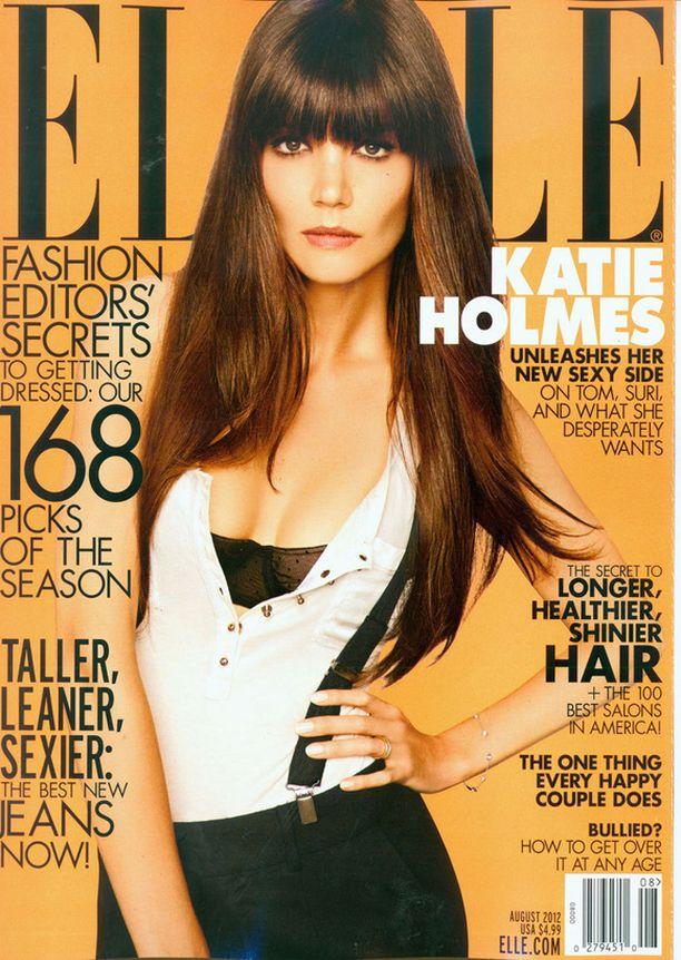 Katie Holmesin ja Tom Cruisen ero oli ennustettavissa Elle-lehden jutussa.