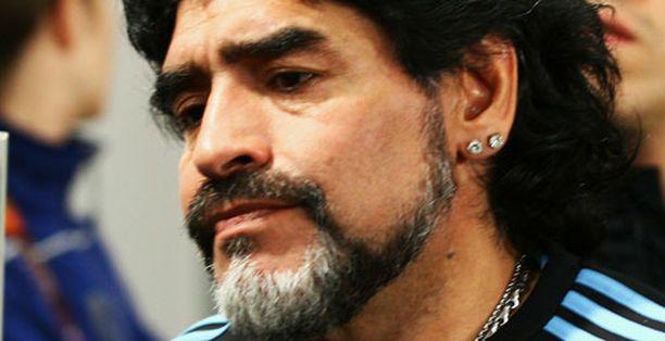 Diego Maradonan päävalmentajakausi päättyi suureen pettymykseen.