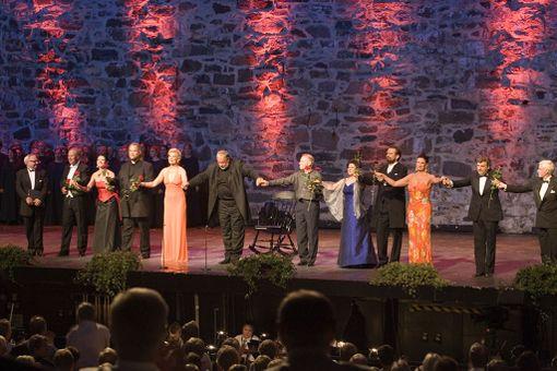Savonlinnan Oopperajuhlia on järjestetty vuodesta 1912 asti.