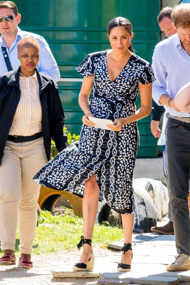 Meghan, Harry ja Archie vierailivat Kapkaupungissa.