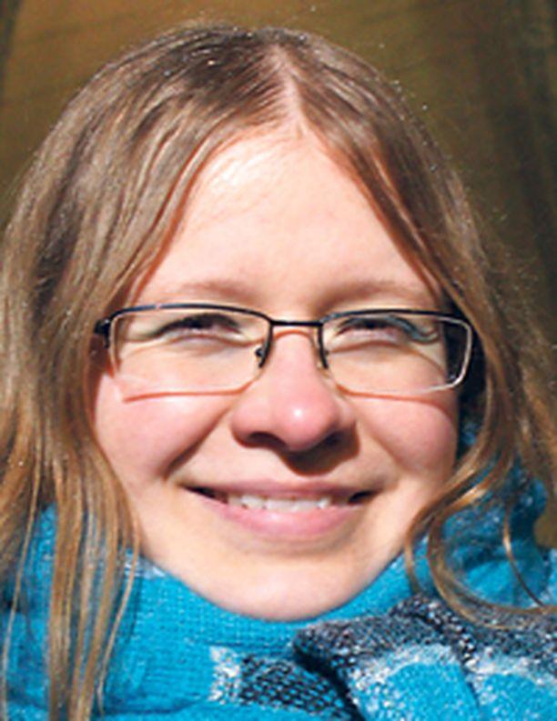 MÄKIFANI Katarzyna Gucewich ihailee Janne Ahosta mutta pitää Matti Nykästä kaikkien aikojen suurimpana.